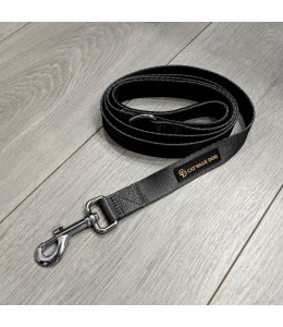 Catwalk Dog Hundeline - Sort/Gunmetal